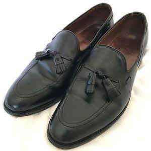 Allen Edmonds Black Leather Grayson Loafers 12A
